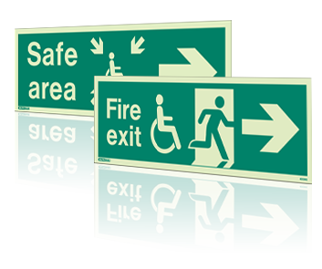 JaliteMobility Impaired Safety Signs Products.