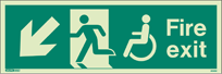 4046U - Jalite Mobility Impaired Fire Exit Sign