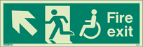 4047U - Jalite Mobility Impaired Fire Exit Sign