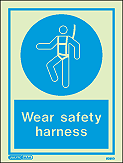 5030D - Jalite Wear Safety Harness Sign