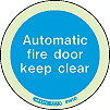 5141O - Jalite Automatic Fire Door Keep Clear Sign