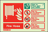 6375ID - Jalite Fire Hose Identification Signs